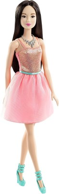 Barbie Coral Dress(Multicolor)