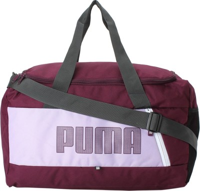 87869b4adc 69% OFF on Puma Fundamentals Sports Bag S II Travel Duffel Bag(Purple) on  Flipkart