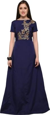Naomika Anarkali Gown(Blue)