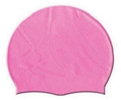 HEALTH FIT INDIA PINK COLOR SWIMMING CAP Swimming Cap(Pink, Pack of 1)