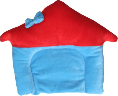 Kidzvilla Solid Baby Pillow(Red)