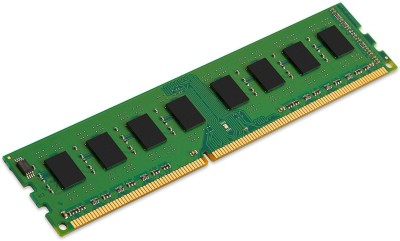 Kingston RAM DDR3 4 GB PC DRAM (DIMM 240-pin - 1600 MHz PC3L-12800 - CL11 - 1.35 V - unbuffered - non-ECC (KCP3L16NS8/4))(Green)