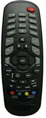 AS GURU Den Set top Box Remote Controller(Black)