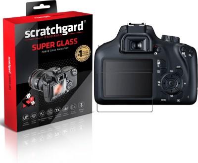 Scratchgard Screen Guard for Canon EOS 3000D, Unbreakable Hybrid Nano Glass Flim 1