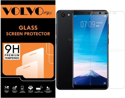 VOLVO MAX Tempered Glass Guard for Vivo V7(Pack of 1)