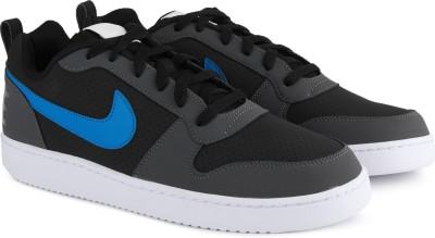 Nike NIKE COURT BOROUGH LOW Sneakers For Men(Black, Grey) 1
