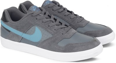 Nike NIKE SB DELTA FORCE VULC Sneakers For Men(Black, Grey) 1