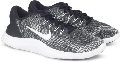 Nike FLEX 2018 RN Running Shoes For Men(Black, Grey) 1