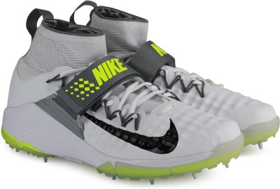 Nike NIKE ALPHA ACCELERATE 3 Cricket Shoes For Men(White) 1