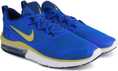 Nike NIKE AIR MAX FURY Walking Shoes For Men(Blue) 1