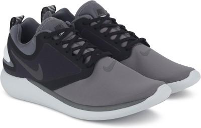 Nike LUNARSOLO Running Shoes For Men(Black, Grey) 1