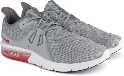 Nike NIKE AIR MAX SEQUENT 3 Running Shoes For Men(Grey) 1