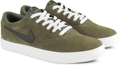 Nike NIKE SB CHECK SOLAR Sneakers For Men(Green) 1