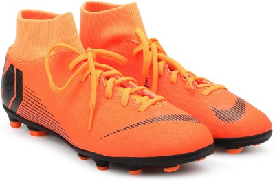 Nike SUPERFLY 6 CLUB FG/MG Football Shoes For Men(Orange) 1