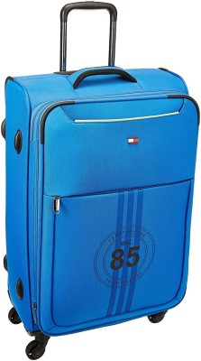 1d3d039b8 40% OFF on Tommy Hilfiger Athens Club Expandable Cabin Luggage - 22 inch(Blue)  on Flipkart | PaisaWapas.com