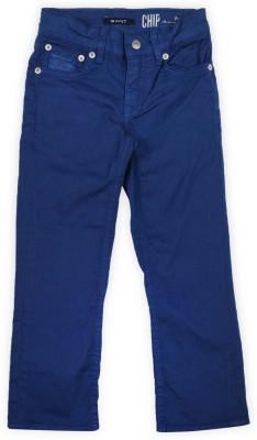 Gant Regular Fit Boys Blue Trousers at flipkart