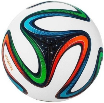 Aavik Brazuca Hard Ground PU Football - Size: 5(Pack of 1, Multicolor)