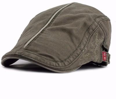 Friendskart Solid New Spring Summer Style Cotton Beret Caps Men Women Fashion Flat Cap Letters Gorras Casquette Visors Sun Hat Cap