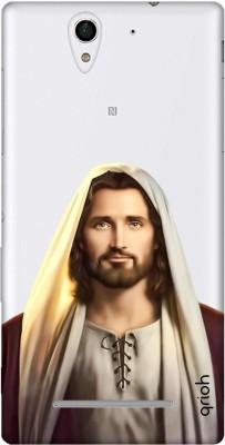 QRIOH Back Cover for Sony Experia C3 Multicolor, Grip Case QRIOH Designer Cases   Covers