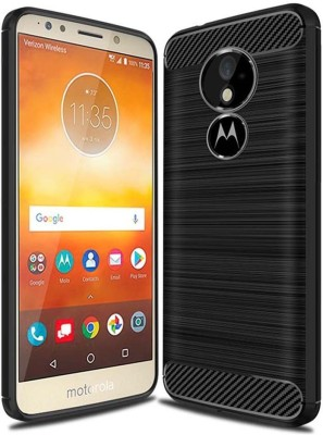 Icod9 Back Cover for Motorola Moto G6 Play(Black, Silicon)