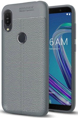 Unistuff Back Cover for Asus Zenfone Max Pro M1(Grey, Rugged Armor)