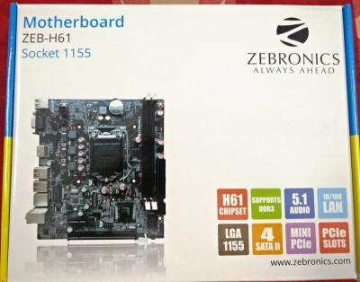 Zebronics ZEB-H61 Combo Motherboard(Black)