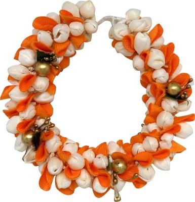 Majik Hair Accessories For Women Wedding | Flower Hair Gajra (veni) For Bridal Girls Hair Accessory Set(Multicolor) Flipkart