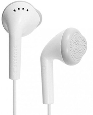 Grostar YS - Earphone with Mic and for Galaxy J1-J2-J3-J5-J7-J7PRIME-J7NXT S2 -S3-S4-S5-S6-S6 Edge - S7 -S8 -S8 Plus and for All Other Android Smartphones Wired Headset with Mic(White, In the Ear)