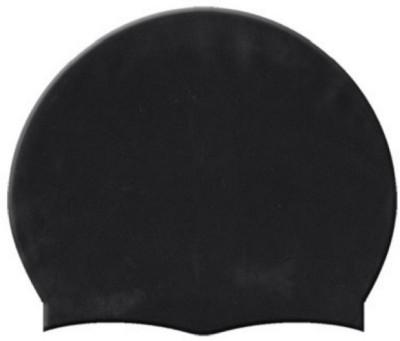 HEALTH FIT INDIA BLACK COLOR SWIMMING CAP Swimming Cap(Black, Pack of 1)