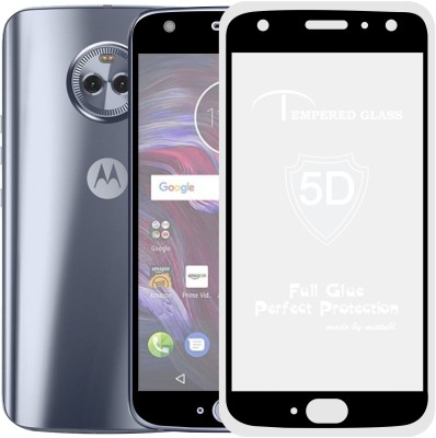 Case Creation Edge To Edge Tempered Glass for Motorola Moto X4 2017 XT1900-2(Pack of 1)