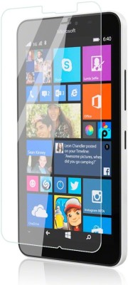 U-Verse Tempered Glass Guard for Microsoft Lumia 640(Pack of 1)