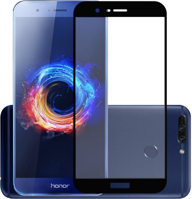 Case Creation Edge To Edge Tempered Glass for Huawei Honor 8 Pro 2018(Pack of 1)