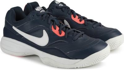 Nike COURT LITE Tennis Shoes For Men(Blue) 1