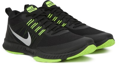 Nike ZOOM DOMINATION TR Training Shoes For Men(Black, Green) 1