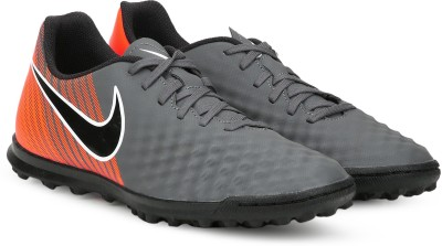 Nike OBRAX 2 CLUB TF Football Shoe For Men(Grey) 1