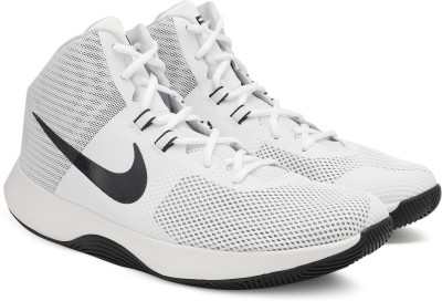Nike NIKE AIR PRECISION Basketball Shoes For Men(White) 1