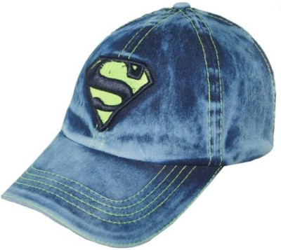 Saifpro Blue Jeans Embroidered Cotton Cap