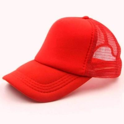 Saifpro Looks Red Netted Mesh baseball Cap Cap