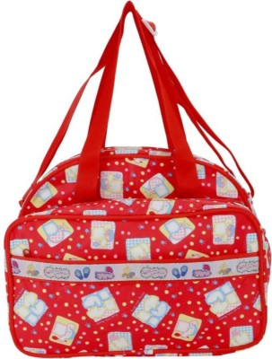 Guru Kripa Baby Products Presents New Born Baby Multypurpose Mother Bag With Holder Diapper Changing Multi Comprtment For Baby Care And Maternity Handbag Messenger Bag Diaper Nappy Mama Shoulder Bag Diaper Bag For Baby Multipurpose Waterproof Mother Bag Diaper Bag (Red) New Born Baby Mother Bag/Diap