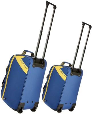 3935798f3a32 36% OFF on Aristocrat Dawn set of 2 duffle trolly bags 62 cm   52 cm Duffel  Strolley Bag(Blue) on Flipkart