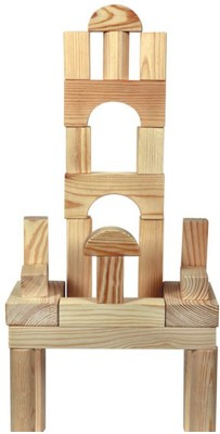 Skillofun Building Blocks(Brown) at flipkart