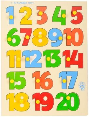 Skillofun Number Shape Tray(Multicolor) at flipkart