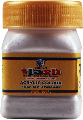 Flash Acrylic Pearl Colour ( Code 110 ) 50 ML(Set of 1, Peral)