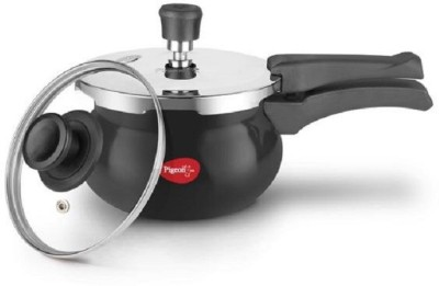 Pigeon 2 Pressure Cooker with Induction Bottom(Aluminium)