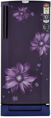 Godrej R D EPRO 225 TDI 5.2 PRL PRP 210 L Inverter 5 Star Direct Cool SD Refrigerator (Pearl Purple)
