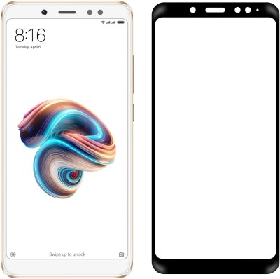 Case Creation Edge To Edge Tempered Glass for Mi Redmi Note 5 Pro(Pack of 1)