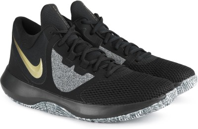sale retailer 8c578 e40ca Nike NIKE AIR PRECISION II Basketball Shoes For Men(Black)