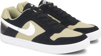 Nike NIKE SB DELTA FORCE VULC Sneakers For Men(Black, Beige) 1