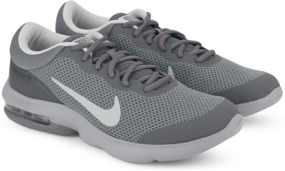 Nike NIKE AIR MAX ADVANTAGE Running Shoes For Men(Grey) 1