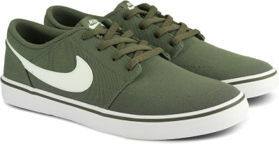 Nike NIKE SB PORTMORE II SOLAR CNVS Sneakers For Men(Green)
